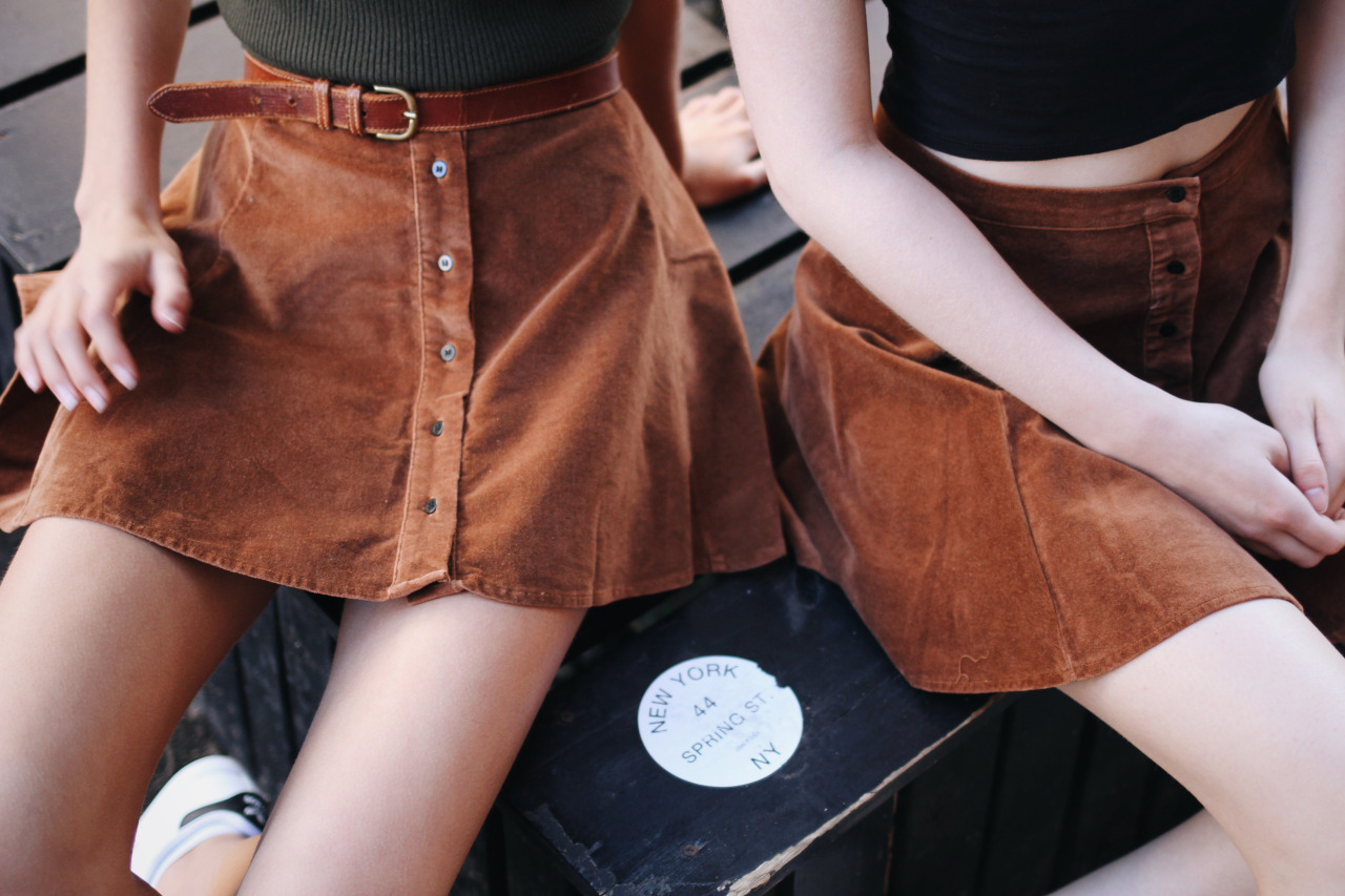 skirt, brown, and tumblr image