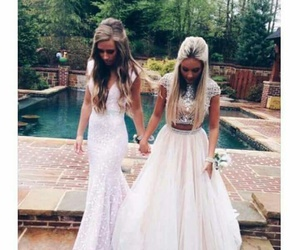 Prom, beautiful, and best friends image