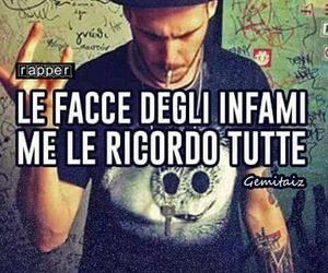 maschere, frasi italiane, and gemitaiz image