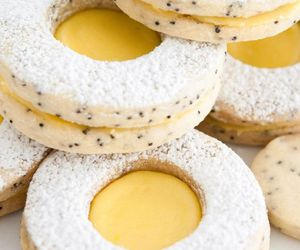 Cookies, poppy seed, and sweet image