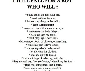 boys, list, and quotes image