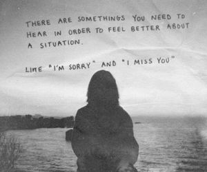 black and white, text, and girl image