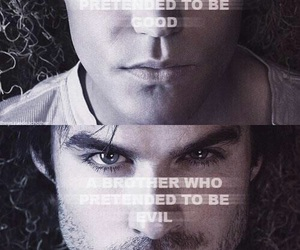 brothers, damon salvatore, and tvd image