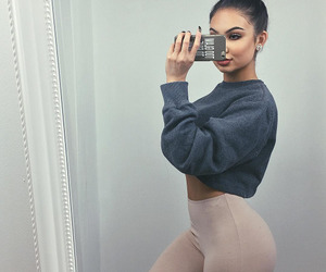 beauty, clothes, and girl image