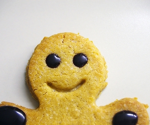 happy, cookie, and smile image