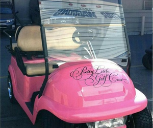 pretty little liars, car, and pink image
