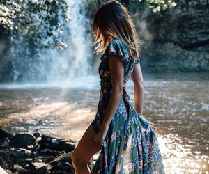 dress, nature, and style image