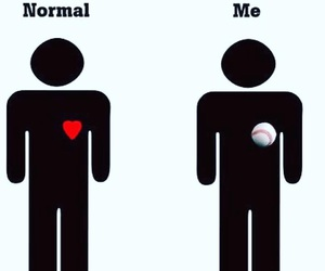 love, baseball, and quotes image