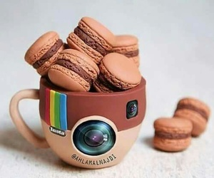 mug, macron, and instagram image