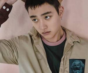 exo, d.o, and lucky one image