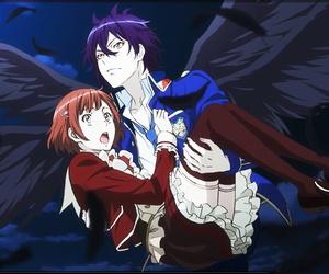 anime, fallen angel, and shiki natsumezaka image