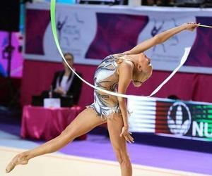 ribbon, rhytmic gymnastic, and yana kudryavtseva image