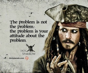 jack sparrow, quote, and pirates of the caribbean image