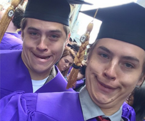 sprouse, cole, and funny image