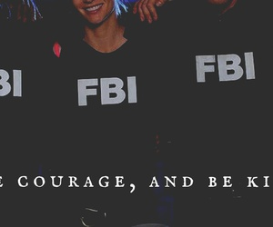 criminal minds, fbi, and be kind image