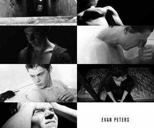 evan peters, american horror story, and ahs image