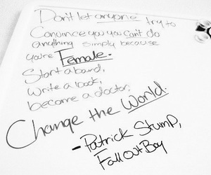 fall out boy, patrick stump, and quote image