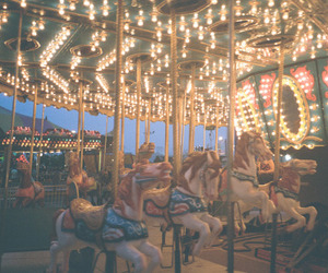 lights, carnival, and fun image