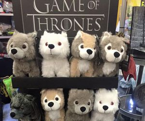 wolf, game of thrones, and cute image