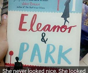 snapchat, bookquotes, and eleanorandpark image
