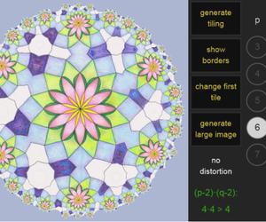 hyperbolic tile making image