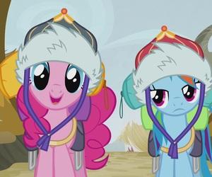 my little pony, rainbow dash, and pinkie pie image