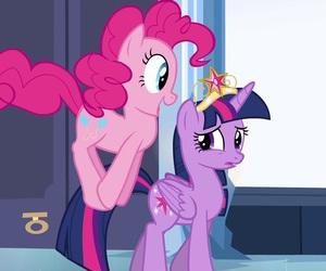 my little pony, twilight sparkle, and pinkie pie image