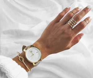 accessories, nail polish, and rings image