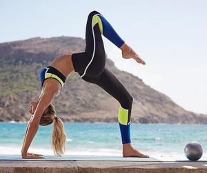 fashion, fitness, and yoga image