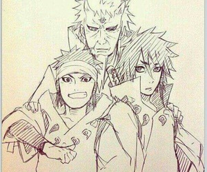 naruto, indra, and ashura image