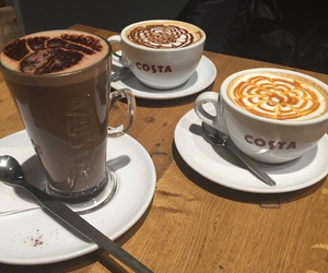 cafe, boissons, and costa image