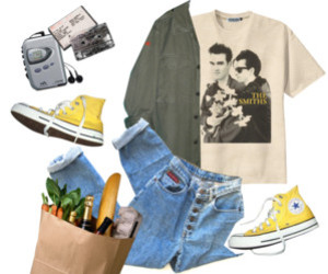 grunge, indie, and outfit image