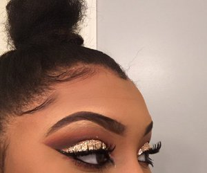 cosmetics, eyebrows, and eyeliner image