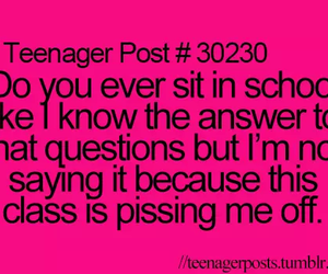 school, class, and funny image