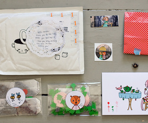 art, envelopes, and design image
