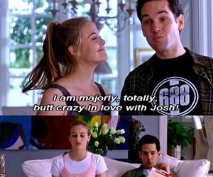 Clueless, josh, and quotes image