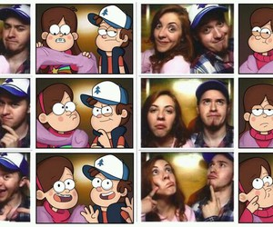 gravity falls, alex hirsch, and mabel image