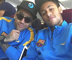 neymar, fc barcelona, and dani alves image