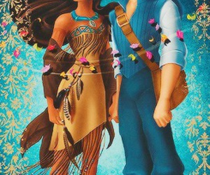 disney and pocahontas image