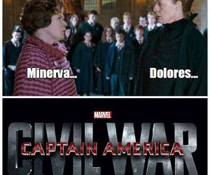 civil war, harry potter, and dolores image