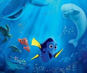 wallpaper, disney, and dory image