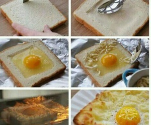 food, egg, and diy image