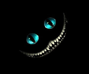 alice au pays des merveilles, alice in wonderland, and Cheshire cat image