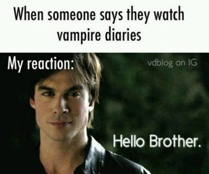 tvd, the vampire diaries, and damon salvatore image