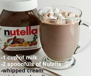 drink nutella mashmellows image