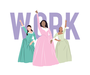 fan art, hamilton, and eliza schuyler image