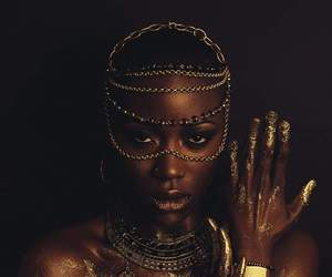 black woman, fashion, and model image