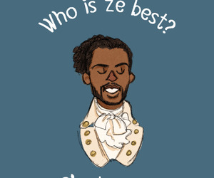 fan art and hamilton image
