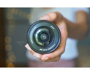aesthetic, camera, and colorful image