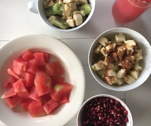 apple, watermeloon, and cranberry image